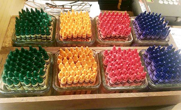 The Crayons At My Job