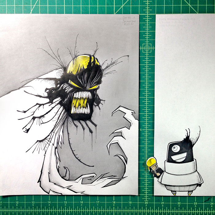 random-ink-blots-monster-drawings-stefan-bucher-12