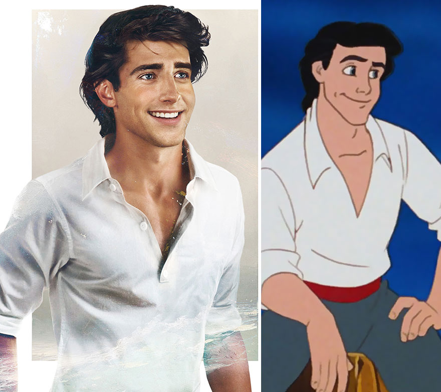 How Disney Princes Would Look In Real Life Bored Panda