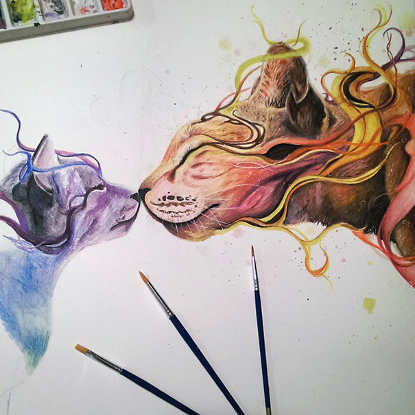 realistic-watercolor-paintings-dany-lizeth-5