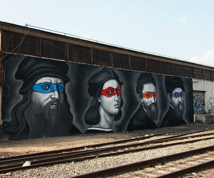 renaissance-artists-teenage-mutant-hero-turtles-mural-owen-dippie-new-york-9