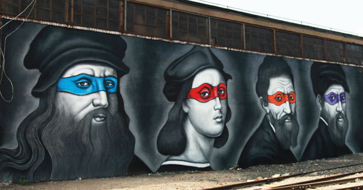 Ninja Turtles Full Face Paint