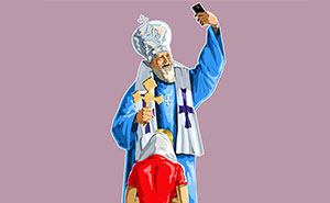 Holy Selfie: Satirical Illustrations Of Religious People By Gunduz Agayev