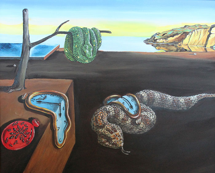 Snakes Invade Great Moments In Art History
