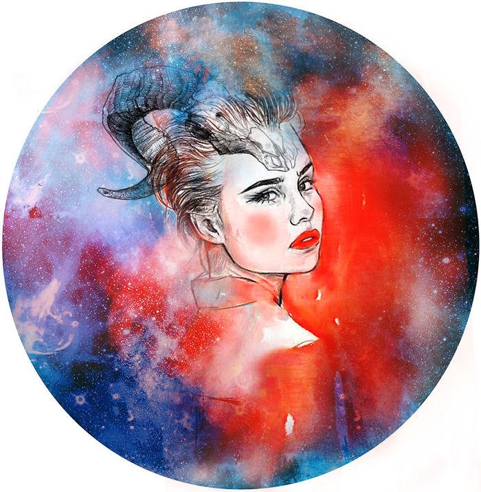 I Draw Sexy Zodiac Signs