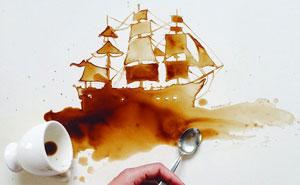 Spilled Food Turned Into Beautiful Art By Giulia Bernardelli