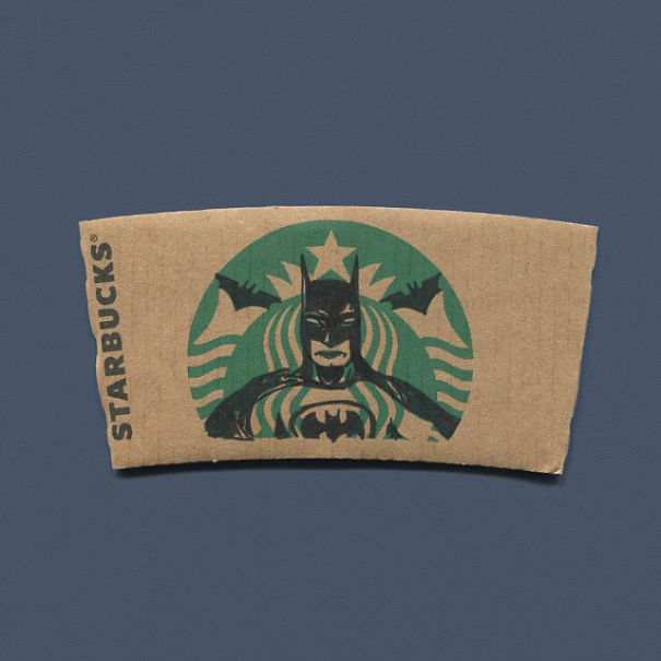 Anonymous Artist Turns Starbucks Mermaid Into Pop-culture Characters