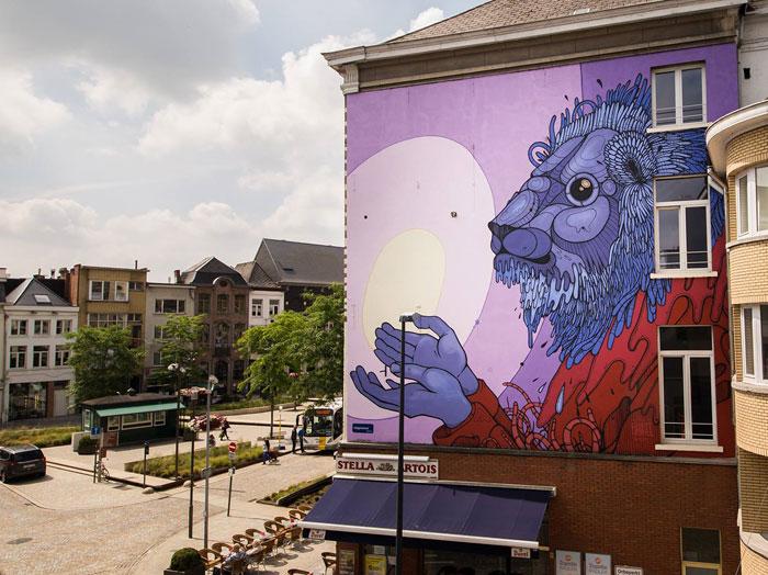 I Invite Street Artists To Decorate My Hometown Of Mechelen, Belgium