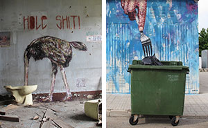 Urban Interventions: I Create Street Art That Interacts With Its Surroundings