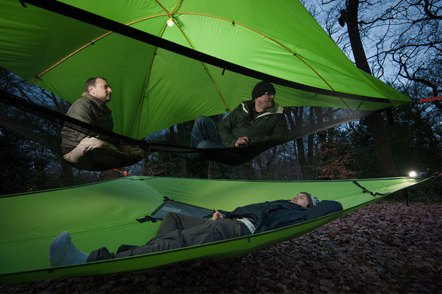 tree-tents-hammocks-c&ing-shelter-tensile-tentsile-32 & New Models Of Suspended Tents That Let You Sleep Among The Trees ...