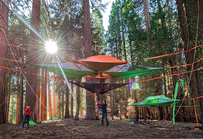 New Models Of Suspended Tents That Let You Sleep Among The Trees