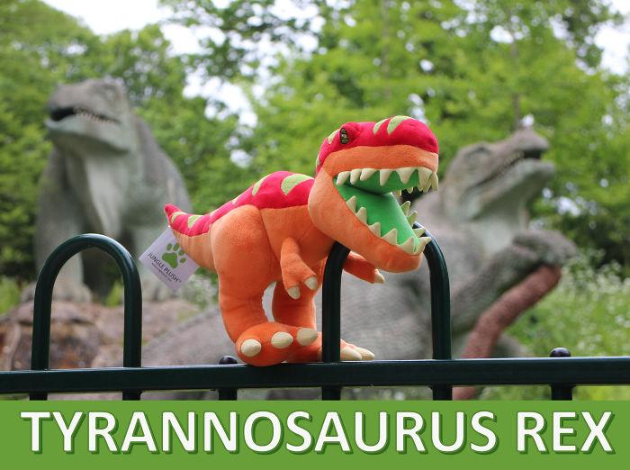 New T. Rex Dinosaur Plushie On Kickstarter!