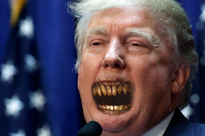 Donald Trump And The Mouth Of Sauron