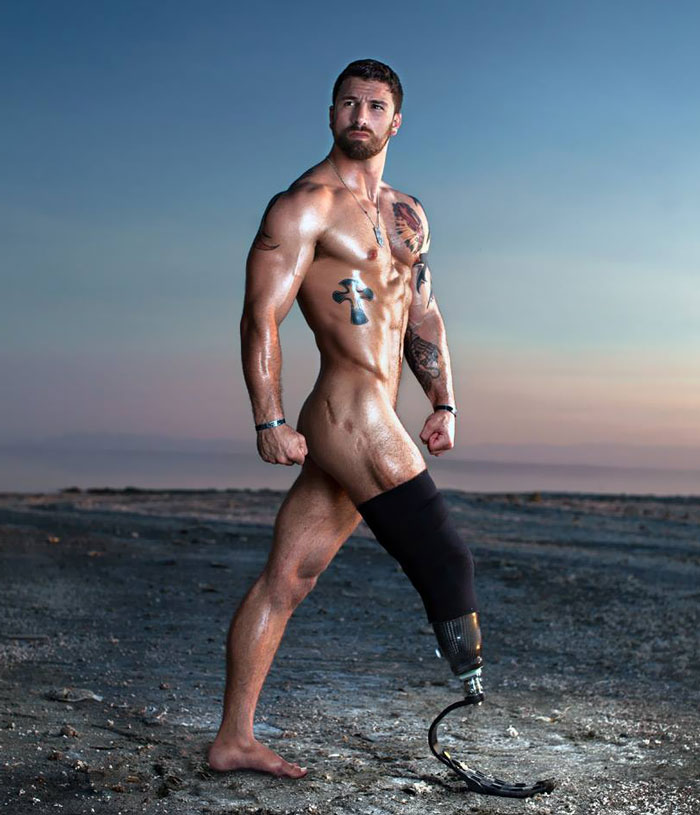 Sexy Wounded War Veterans Show They're Confident Enough To Be Hot Models