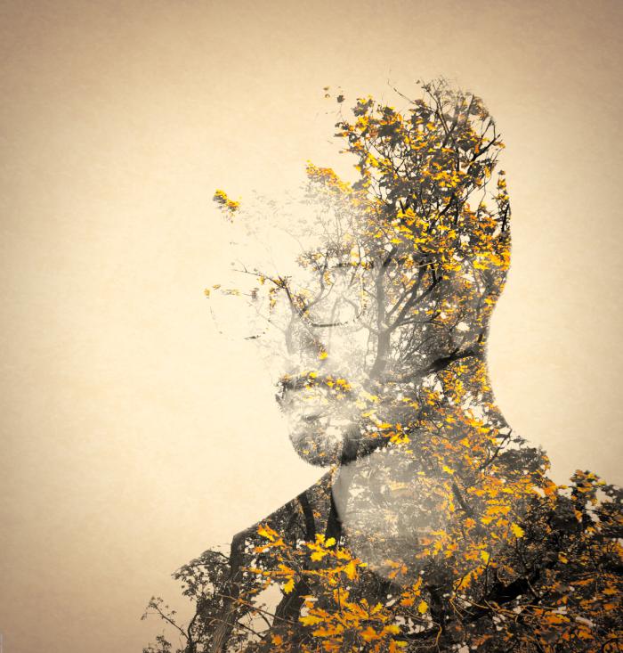 Artist Creates Surreal Double-exposure Portraits