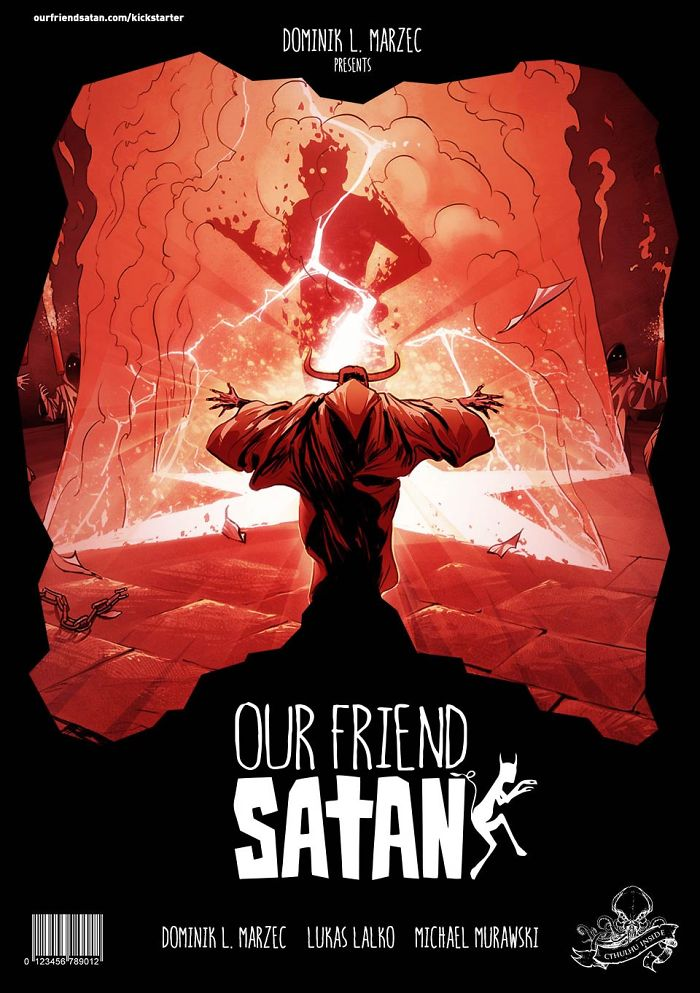 Hilarious Graphic Novel About Depressed Satan And Diabolical Pope