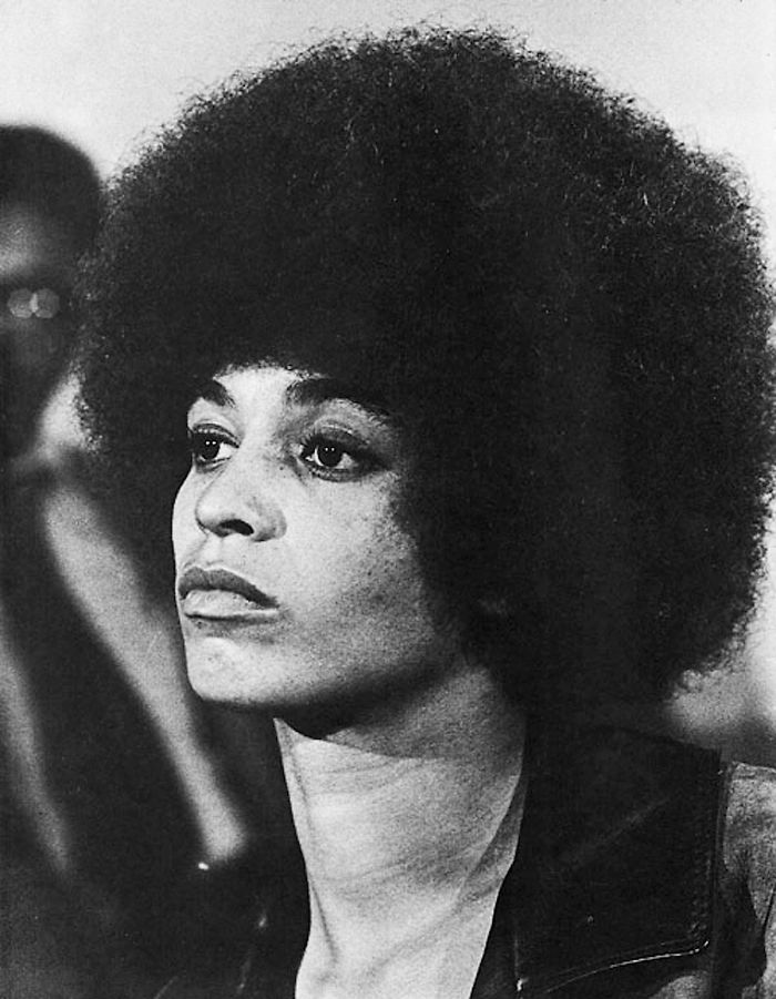 Angela Davis (b. January 26, 1944), American Political Activist, Scholar, Author & Feminist.