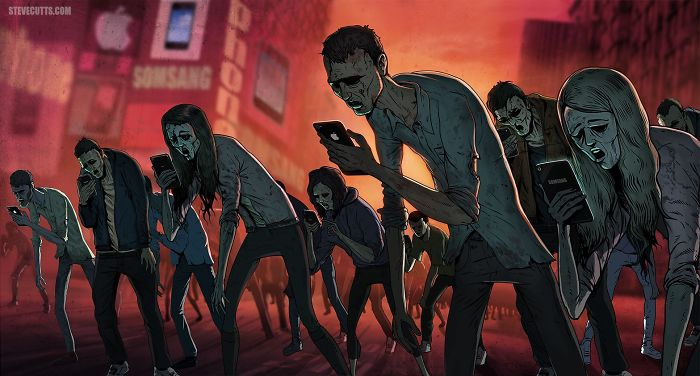 Our World Of Today. Illustrations By Steve Cutts