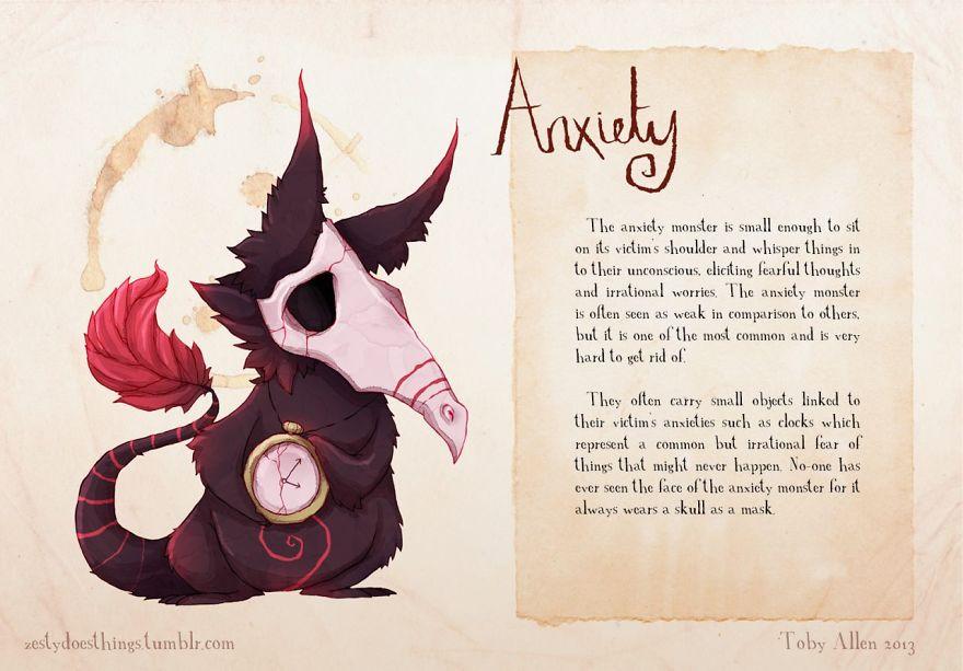 Anxiety mental illnesses