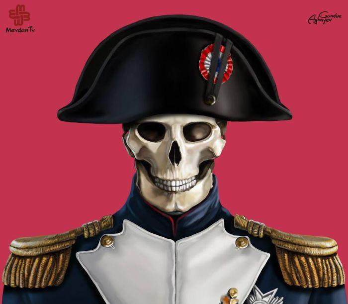 Just Leaders: Creepy Illustrations Of Notorious Leaders By Gunduz Agayev