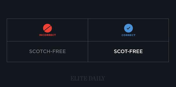 Scot-free