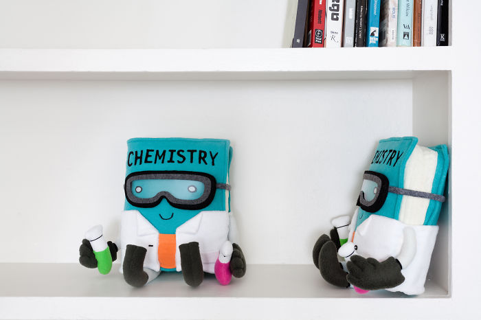 We're Making Adorable Textbook Plushies To End Book Hate
