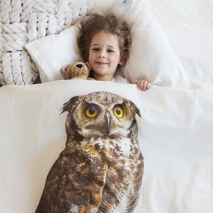 Owl Bedding By Makalulu