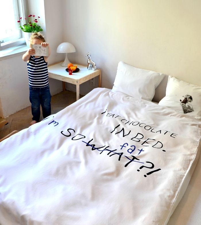 I Eat Chocolate In Bed By Hug The Stuff