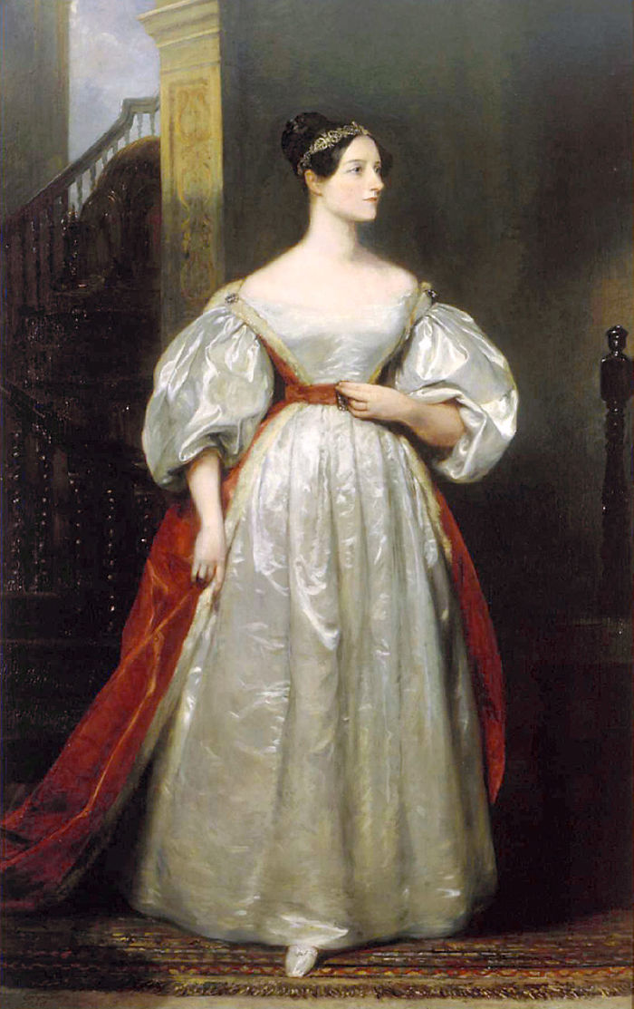 Ada Lovelace: Wrote The First Algorithm Designed For Computation In 1840. First Female Coder