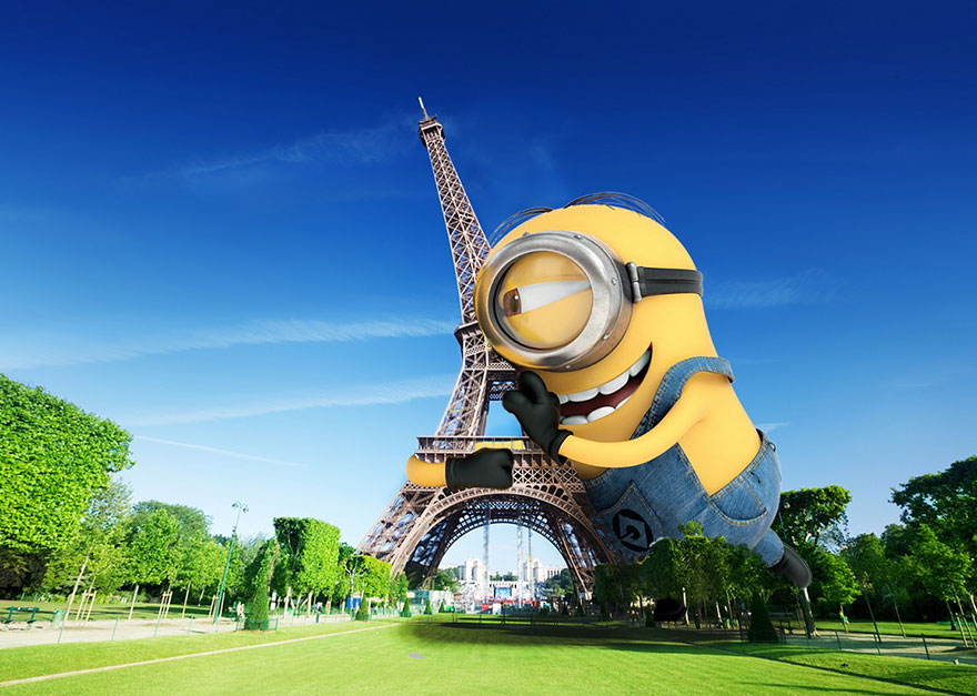 Minions Taking Over Famous Places All Around The World