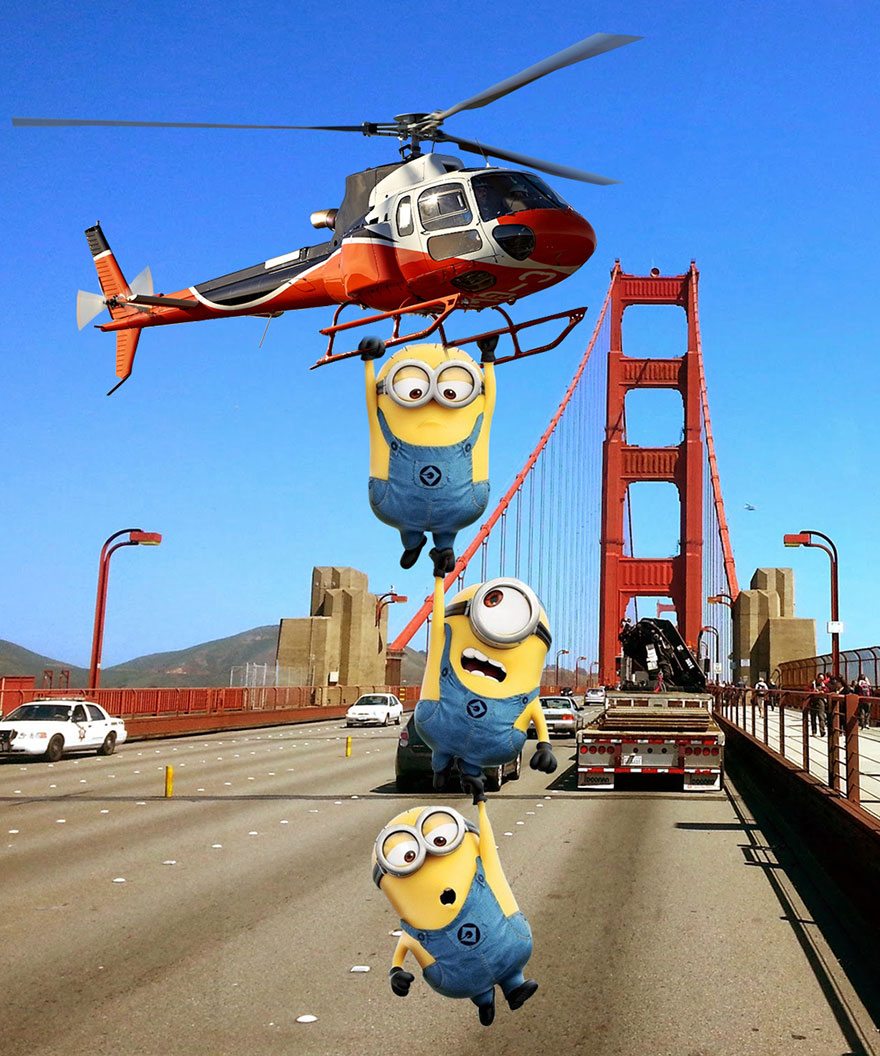 Maula Ali Shrine Wallpaper: Minions Taking Over Famous Places All Around The World