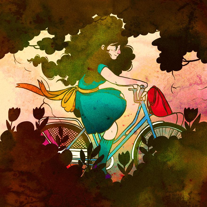 Artist Illustrates One Hundred Things She Loves