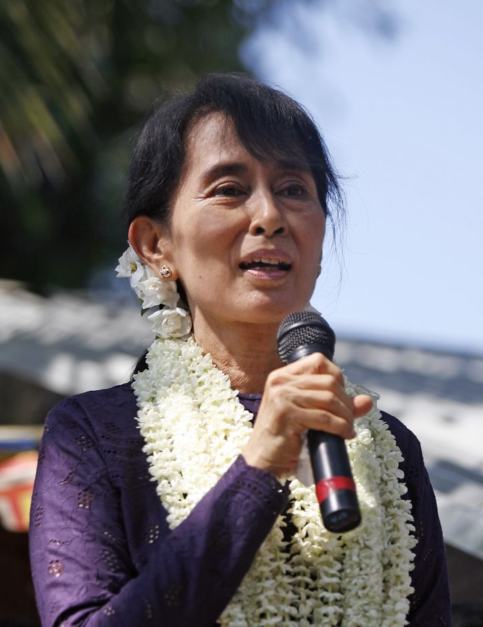 Suu Kyi Was Under House Arrest For 15 Years For Her Pre-Democracy Campaigning