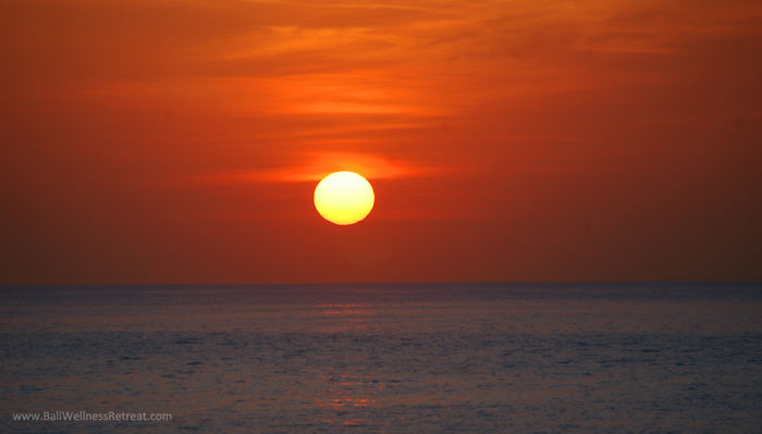 Sunrise In East Bali