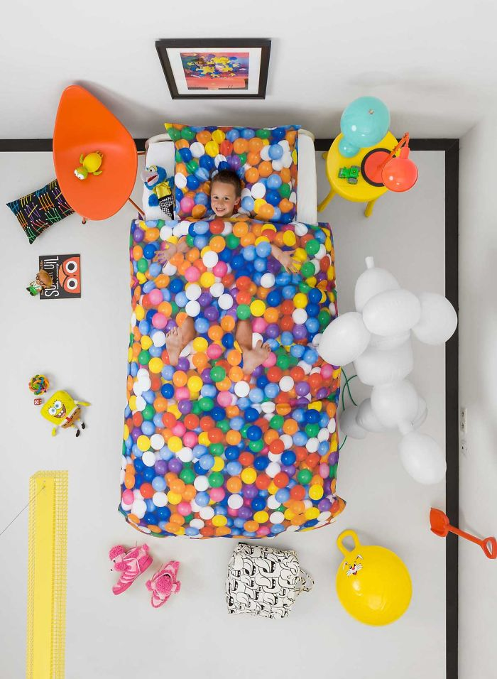 Ball Pit Bedding By Snurk, 100% Cotton