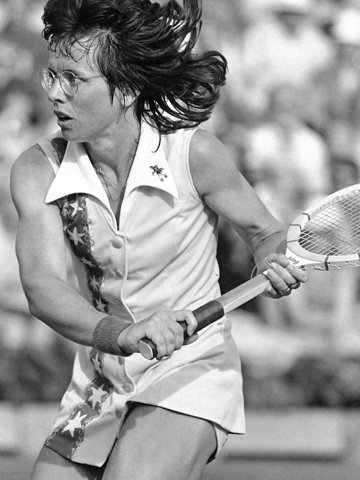 Billie Jean King. US Tennis Legend & Became The First Prominent Female Athlete To Come Out