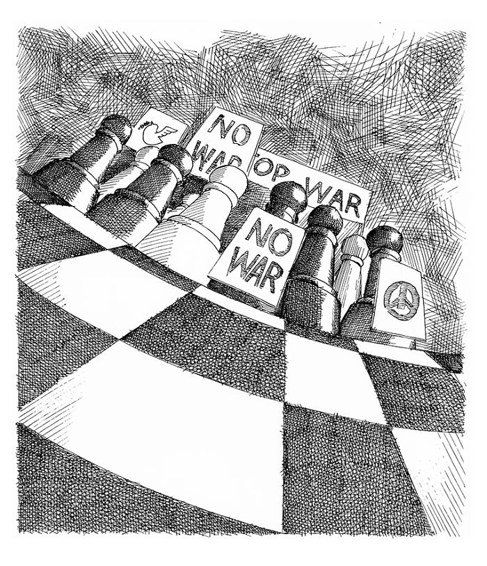 Chess Series: A Satirical Attempt To Explain My Society