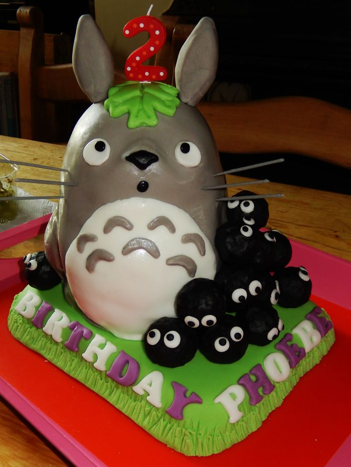 Totoro With Soot Sprites