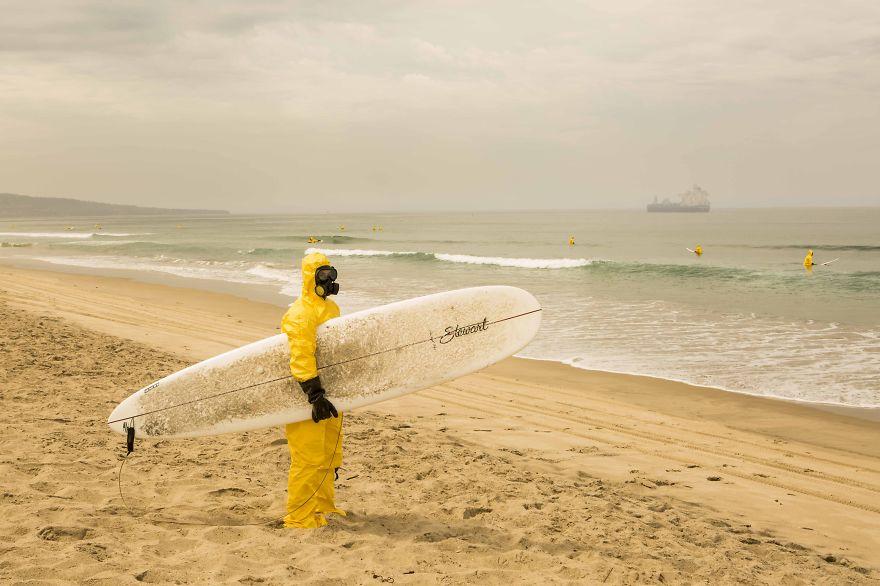 Hazmat Surfing My Photos Predict A Poisonous Dark Future