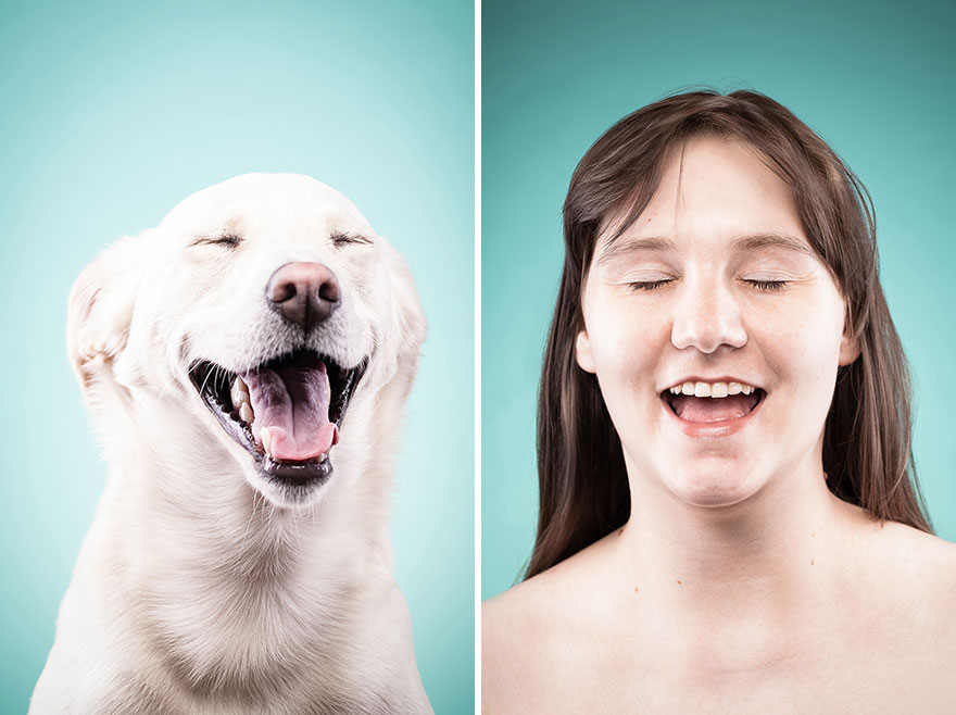 Like Owner, Like Dog: I Capture Dog Owners Mimicking Their Best Friends