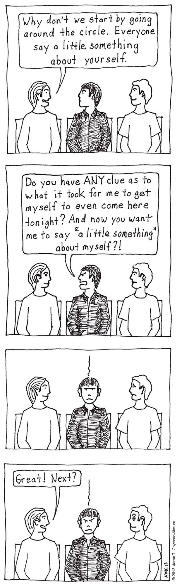 I Illustrate The Difficulties I Face As An Introvert