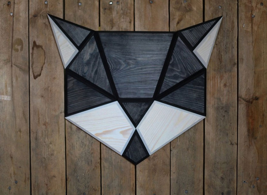 Geometric Wall Art Animal