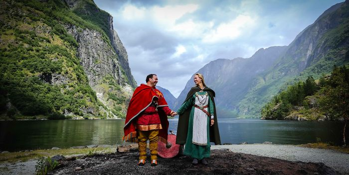 I Photographed A Real Life Norwegian Viking Wedding