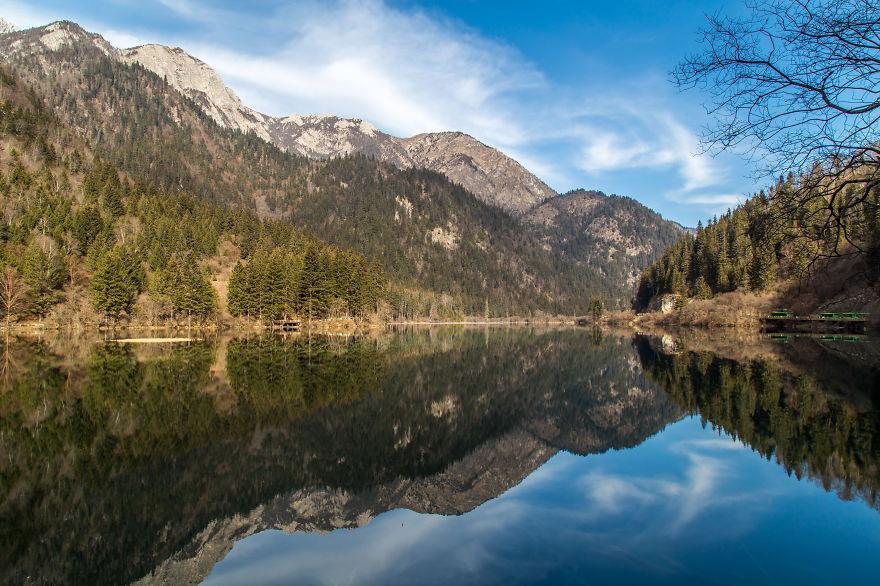 Jiǔzhàigōu - Mirror Lake