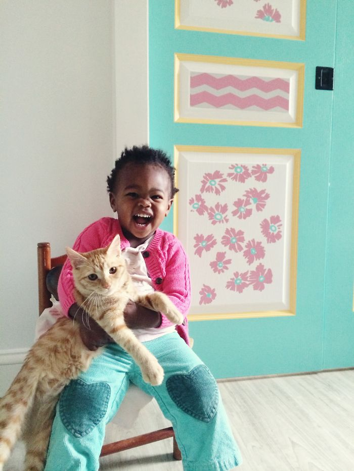 Libby And Elsa: The Adorable Relationship Between A Toddler And Her Kitty