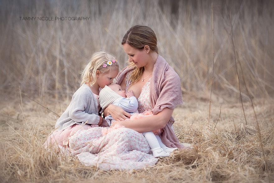 фото красивой мамочки