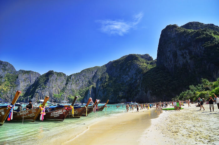 Maya Bay In Pictures: Where Are You Leonardo Di Caprio!?