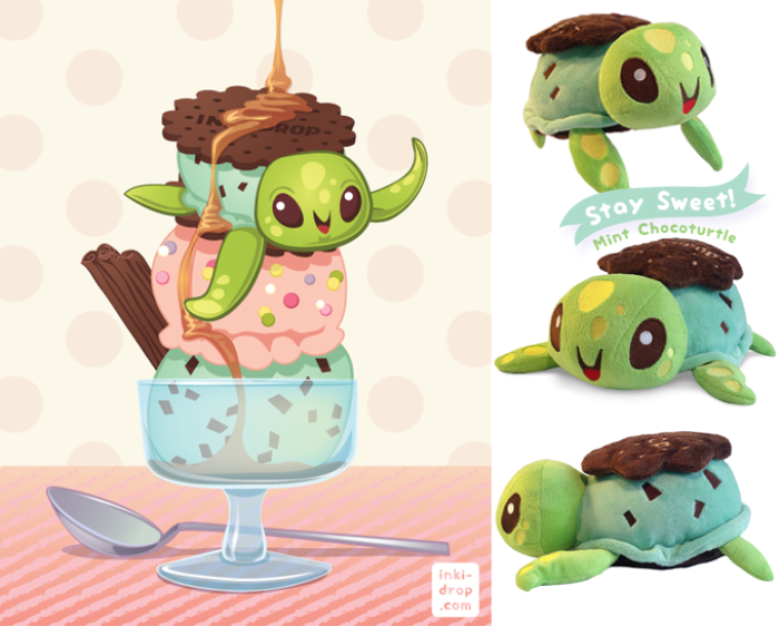 These Plush Designs Take You On A Foodie Journey Under The Sea