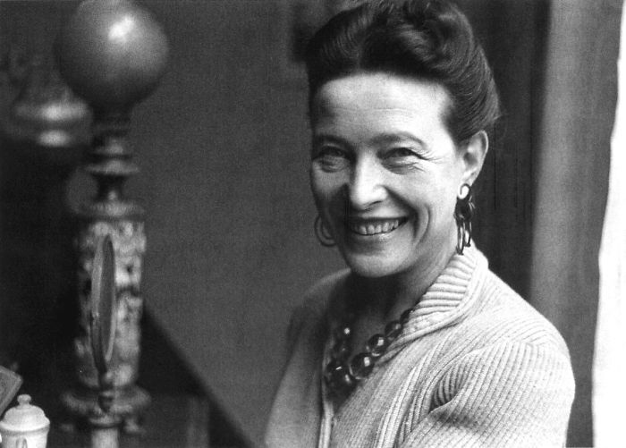 "Simone De Beauvoir, French Feminist, Who Wrote ""The Manifesto Of The 343"", 1971"