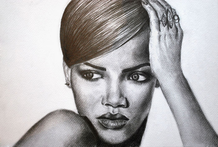 When I Have Free Time, I Pick Up A Pencil To Draw My Favorites Celebrities